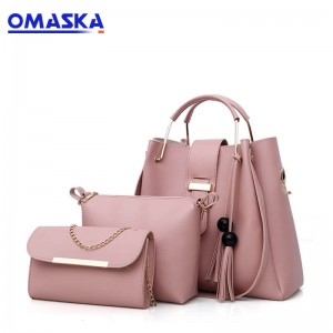 Hot PU Leather Women Handbags set