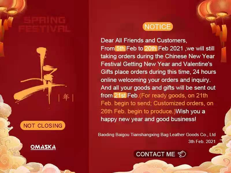 CHINESE NEW YEAR FESTIVAL INFORMATION
