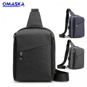 Online Canton Fair New products men chest bag waterproof business crossbody bag