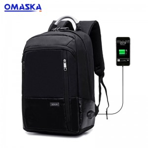Online Canton Fair Waterproof  Smart  Usb school mochilas anti theft business laptop backpack