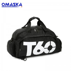 2020 OMASKA outdoor sports leisure style gym waterproof travel duffel bag