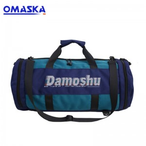Hip Hop Nylon Gym Sports  Duffle Bag Backpack With Shoe Compartment