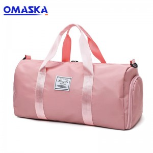 hand carry Strong waterproof travelling fitness bag gym duffle bag