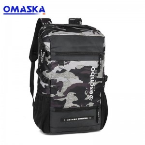 Factory directly School Bags 2018 – OMASKA 2020 new leisure backpack wholesale lower MOQ 6127# – Omaska