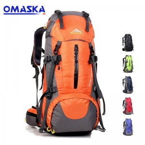 hot selling outdoor sports backpack big backpack mountaineering bag travel bag large capacity backpack