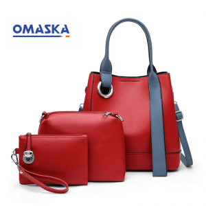 2020 New 3 In 1 PU Leather Ladies Bag Handbags For Women