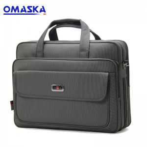 Large-capacity computer bag Oxford cloth waterproof briefcase one generation document package business travel leisure bag