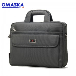 Cheap PriceList for Butterfly Suitcase - Men's business style briefcase large-capacity file package Oxford cloth splash-proof shoulder bag casual handbag wear-resistant – Omaska
