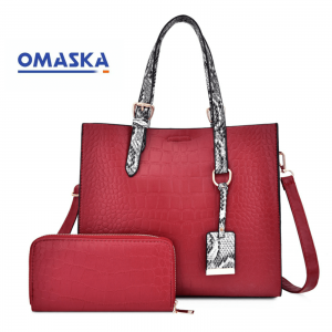 wholesale fashion leather handbag new design women handbags