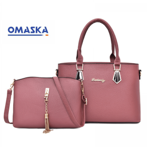 Cheap Lady Tote Bag Leather Handbag Set For Woman