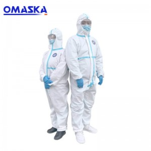 Disposable Medical Isolation Clothing suit coverall gown
