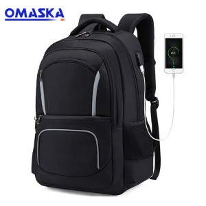 2019 backpack business multi-function charging bag custom anti-theft backpack gift conference travel computer bag