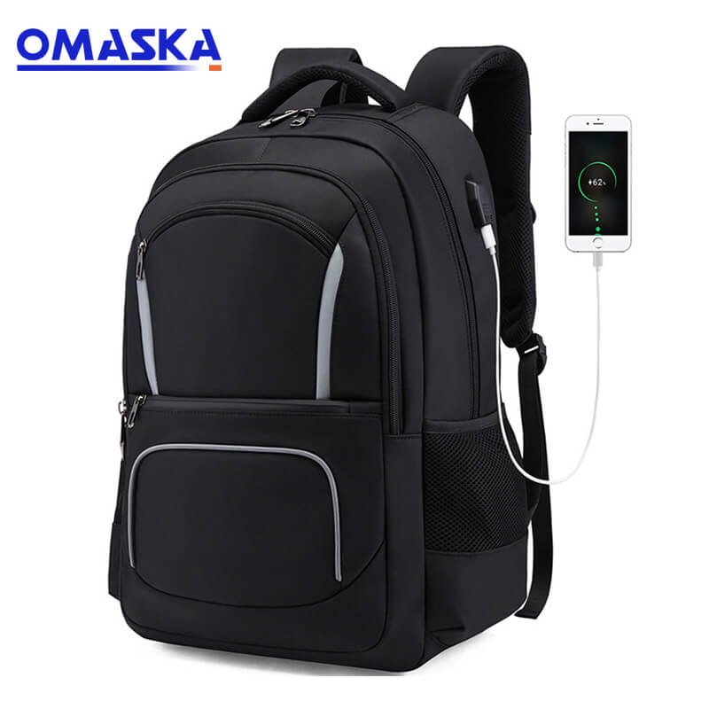 Factory Free sample Custom Logo Backpacks - 2019 backpack business multi-function charging bag custom anti-theft backpack gift conference travel computer bag – Omaska Featured Image