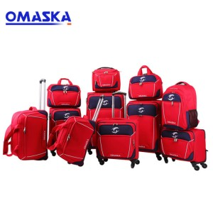 2020 New Designed Multiple Suitcase Travelling Carry On Custom Nylon Luggage Sets