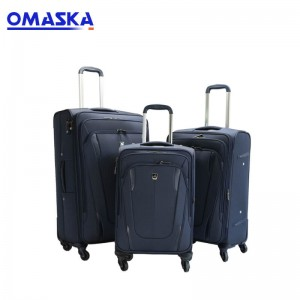 Canton Fair 3 pcs set nylon luggage bag travel luggage suitcase luggage