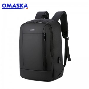 Popular products 2019 business travel oem custom usb multi functional stylish laptop backpack