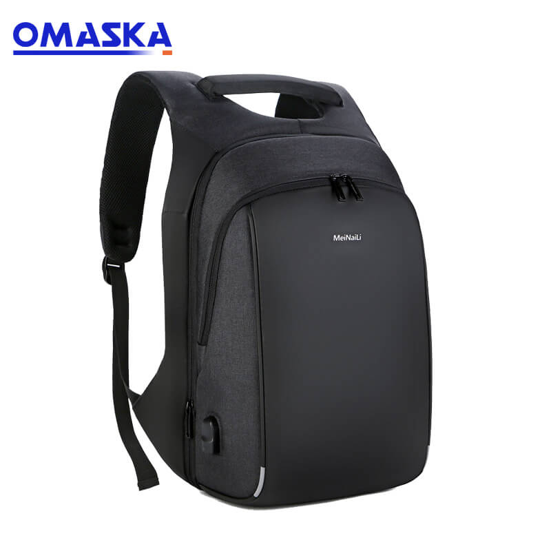Original Factory School Bags - China Meinaili custom school fashion nylon 17 inch usb backpack laptop bags – Omaska