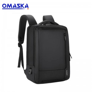 Manufacture wholesale men's business travel fashion oem backpack laptop