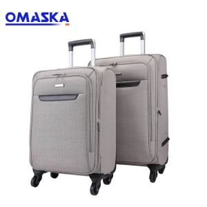 Wholesale design logo office business 4 wheeled 3 pieces trolley luggage bag sets suitcase