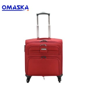 Oxford Brass Box Business Suitcase Chassis 13 Inch Travel Suit Factory Customized