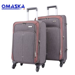 Omaska canvas soft luggage bags 20/24/28 Inch