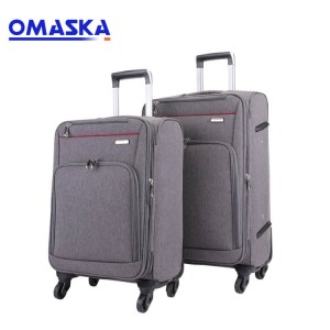 Fashionable customise service travel suitcase