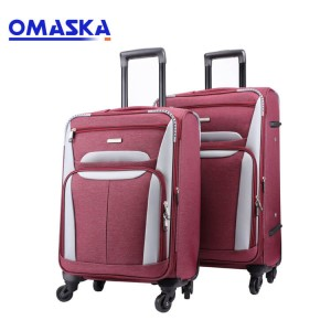 4 spinner wheels 20 24 28 set smooth suitcase travel bags trolly bag set