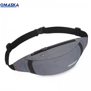 Canton Fair Omaska outdoor fanny pack custom bum waist bag
