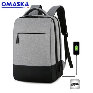2020 Canton Fair men's anti-theft USB charging 15.6 laptop backpack waterproof school back pack