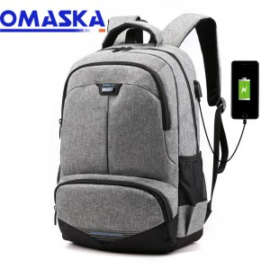 2020 Canton Fair Wholesale USB backpack bag school bag travel backpack