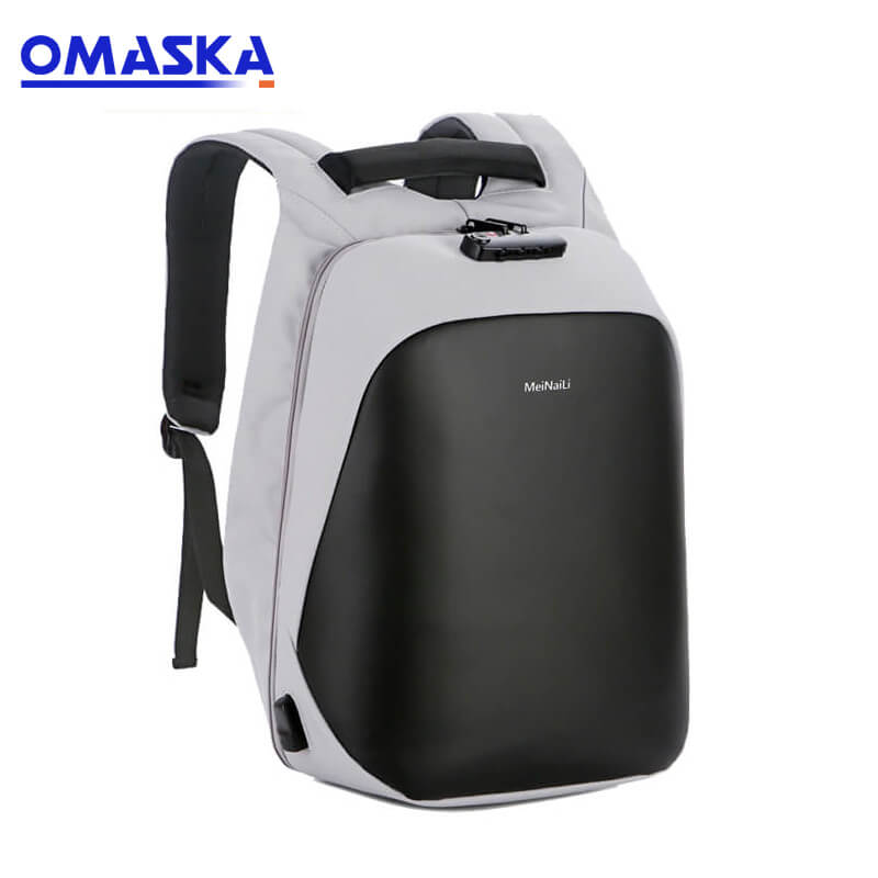 Super Purchasing for 4 Wheels Waterproof Oxford Bags - Omaska wholesale fashion usb charging waterproof anti theft nylon travelling laptop backpack man – Omaska