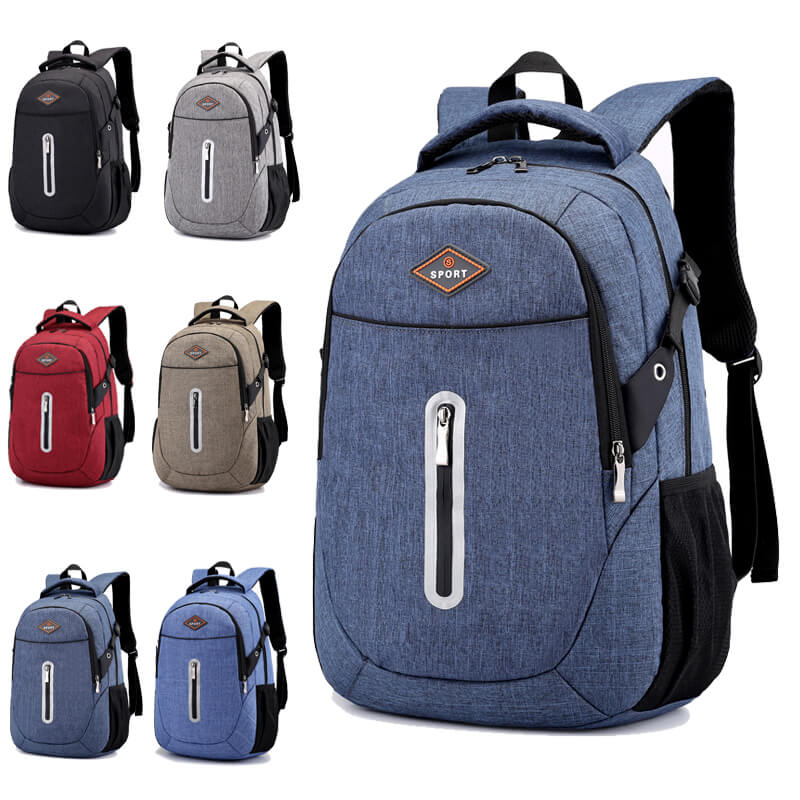 2019 China OMASKA backpack factory hot selling fashion custom wholesale polyester backpack bag Featured Image