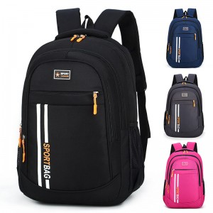 2019 China OMASKA factory new arrival school student big capacity polyester custom backpack wholesale