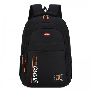 2019 China new OMASKA factory hot selling custom logo wholesale polyester light weight big capacity leisure school backpack bag