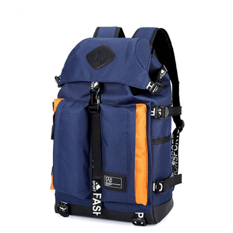 Factory wholesale Laptop Business Backpack - 2019 new style fashion custom logo laptop back pack climbing outdoor hiking sports big backpack bag for men women – Omaska