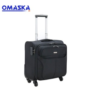 2019 new trolley case 13 inch boarding case caster luggage Oxford cloth suitcase wholesale custom generation