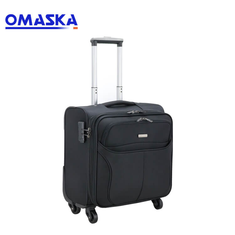 Professional China High Quality Suitcase - 2019 new trolley case 13 inch boarding case caster luggage Oxford cloth suitcase wholesale custom generation – Omaska