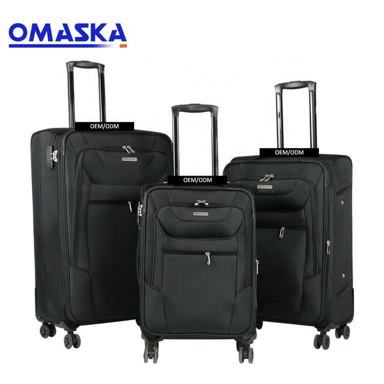 OMASKA brand China professional luggage factory wholesale customize 3pcs set 20″24″28″ travel luggage suitcase Featured Image