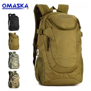 25 liter casual men's bag riding small backpack waterproof outdoor tactical backpack travel backpack