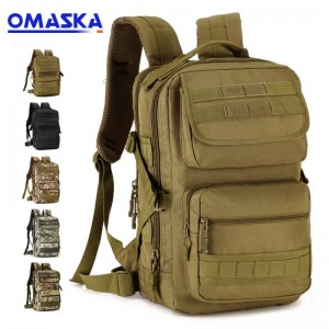 25 liters tactical small backpack square backpack outdoor travel backpack riding assault bag board computer bag