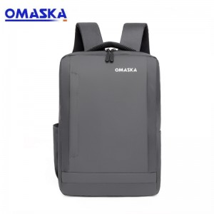 OMASKA 2021 new trendy multi-functional 15.6 Inch usb college bag travel Laptop backpack Bags for men