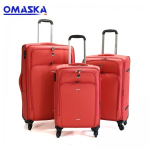 2019 Quality assuranced travel 3pcs set trolley luggage