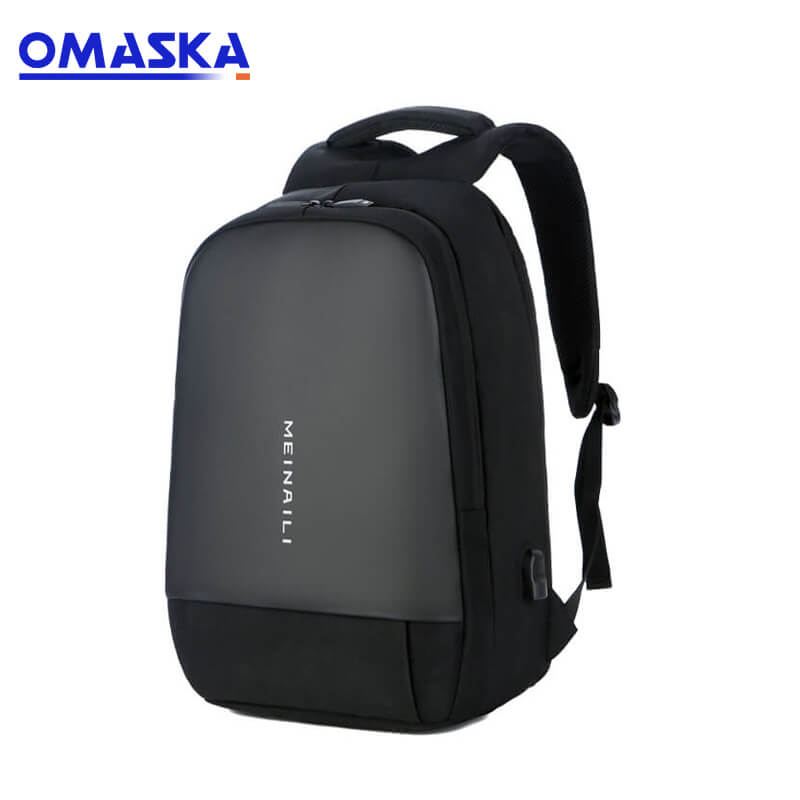 Well-designed Leather Suitcase - Meinaili 2019 smart usb charge port nylon custom laptop backpack bag – Omaska
