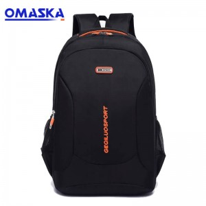 Manufacturer of Usb Charger Backpack - OMASKA backpack factory small MOQ wholesale custom cheap laptop backpack bag – Omaska