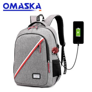 2020 Canton Fair Cheap Usb Charging Travel school college laptop backpack bag