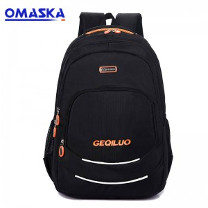 OMASKA colleague backpack factory low MOQ custom wholesale competitive school student backpack laptop