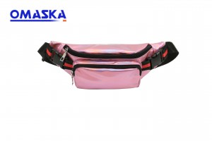 Women's Laser Personalized Colorful Beach Shoulder Belt Pouch Bag Girls Fanny Pack Waist Bag Holographic