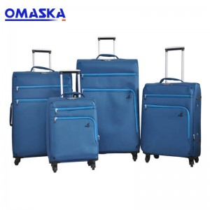 High Quality Business 4 pcs 20 24 28 32 inch vintage suitcase Unique travelmate travel luggage set