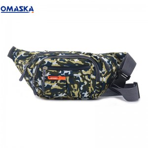 Canton Fair Omaska outdoor sport camo fanny pack waist bag