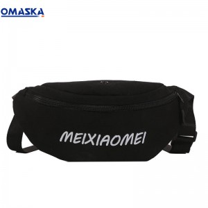 Canton Fair Omaska waist woman bag wholesale canvas fanny pack